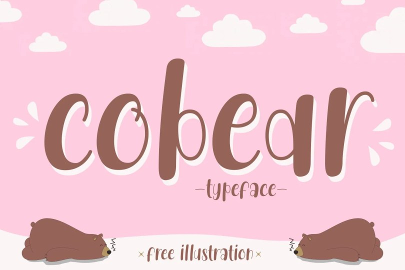 Cobear [1 Font]   The Fonts Master