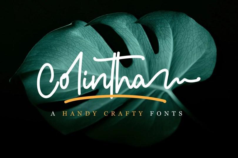 Colintha [1 Font] | The Fonts Master