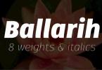 Ballarih Super Family [16 Fonts] | The Fonts Master