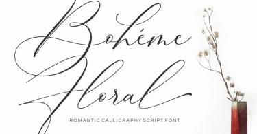 Boheme Floral [1 Font] | The Fonts Master