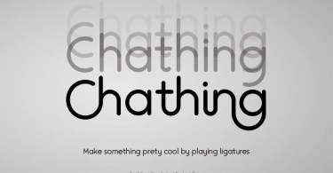 Chathing [4 Fonts] | The Fonts Master