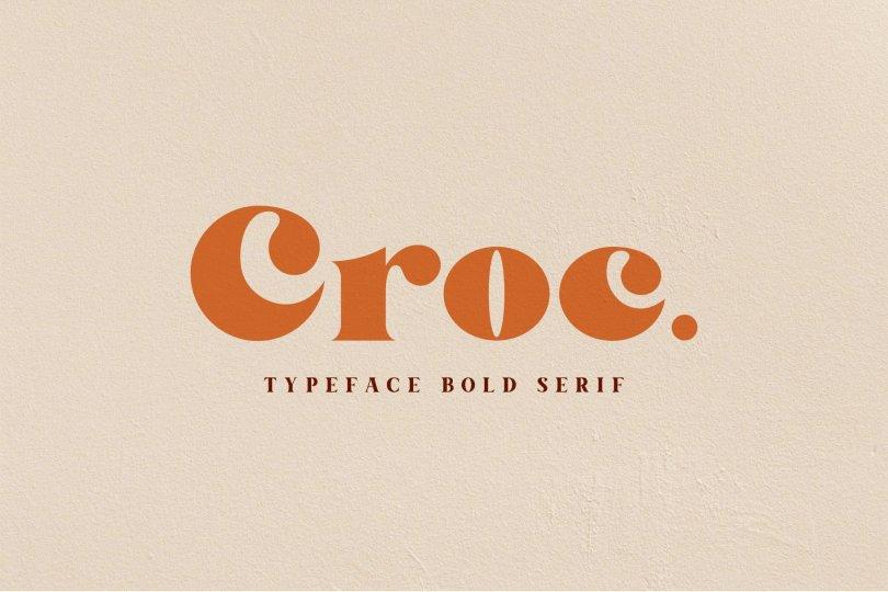 Croc [1 Font] | The Fonts Master