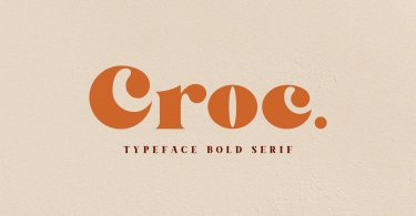 Croc [1 Font] | The Fonts Master