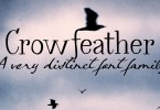 Crowfeather [4 Fonts] | The Fonts Master