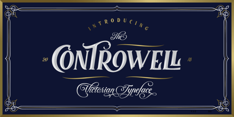 Controwell [5 Fonts] | The Fonts Master