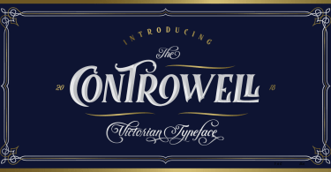 Controwell [5 Fonts]