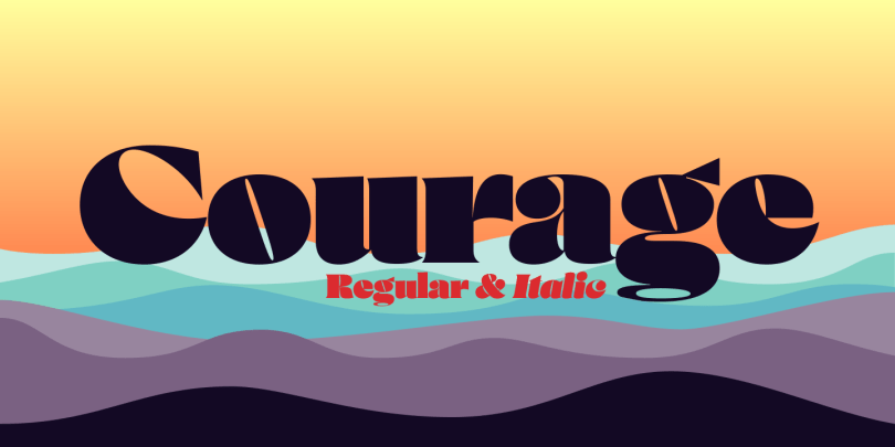 Courage [2 Fonts] | The Fonts Master