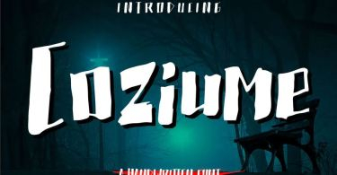 Coziume [1 Font] | The Fonts Master