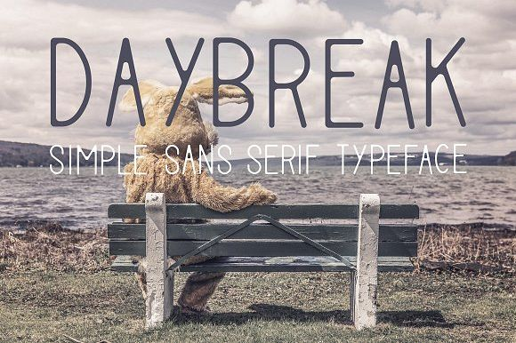 Daybreak [3 Fonts] | The Fonts Master