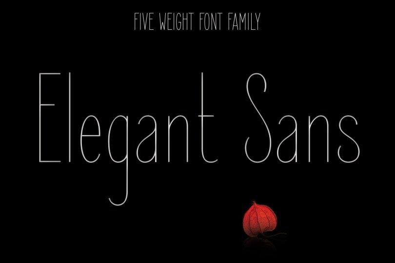 Elegant Sans [10 Fonts] | The Fonts Master