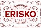 Erisko [1 Font] | The Fonts Master