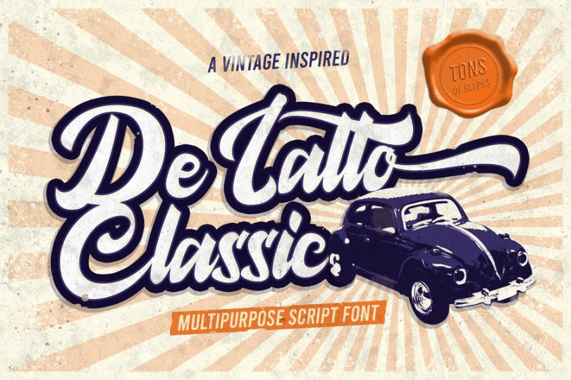 De Latto [1 Font] | The Fonts Master