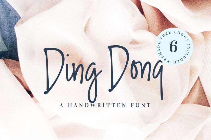 Ding Dong [1 Font] | The Fonts Master