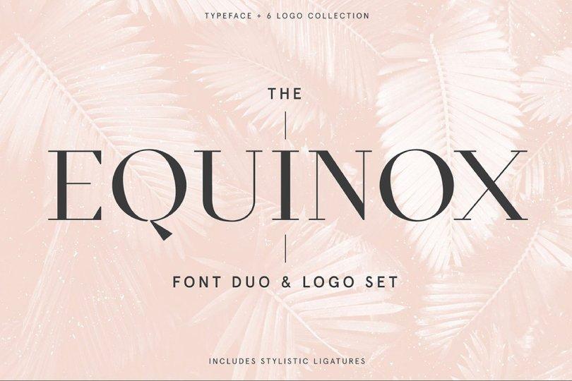 Equinox [2 Font]   The Fonts Master