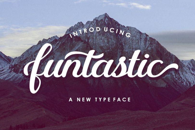 Funtastic Script [1 Font] | The Fonts Master