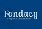 Fondacy Carved [2 Fonts] | The Fonts Master
