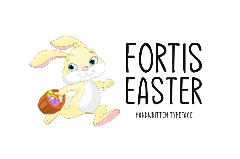 Fortis Easter [1 Font] | The Fonts Master