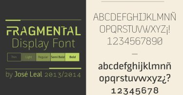 Fragmental [5 Fonts] | The Fonts Master
