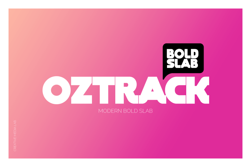 Oztrack [1 Font] | The Fonts Master