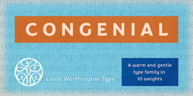 Congenial Super Family [10 Fonts] | The Fonts Master