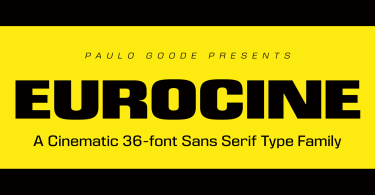 Eurocine Super Family [36 Fonts] | The Fonts Master