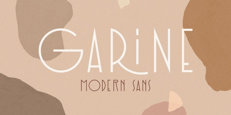 Garine [4 Fonts] | The Fonts Master