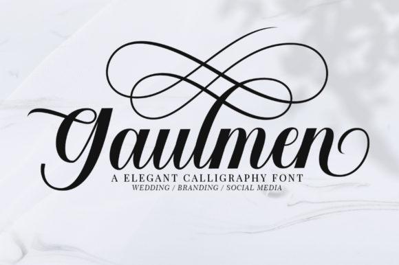 Gaulmen [1 Font] | The Fonts Master