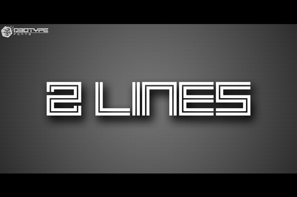 2 Lines [1 Font]   The Fonts Master