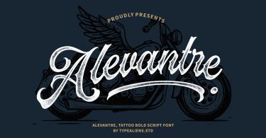 Alevantre [1 Font] | The Fonts Master