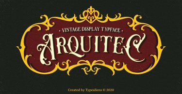 Arquitec [1 Font] | The Fonts Master