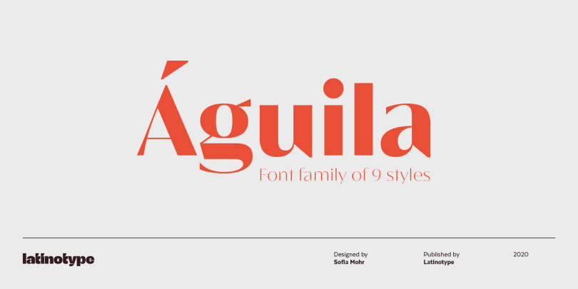 Aguila Super Family [9 Fonts] | The Fonts Master