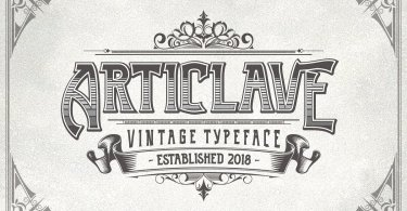 Articlave [3 Fonts] | The Fonts Master