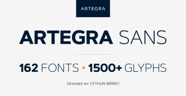 Artegra Sans Super Family [162 Fonts] | The Fonts Master