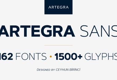 Artegra Sans Super Family [162 Fonts] | The Fonts Master