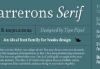 Farrerons Serif Super Family [10 Fonts] | The Fonts Master