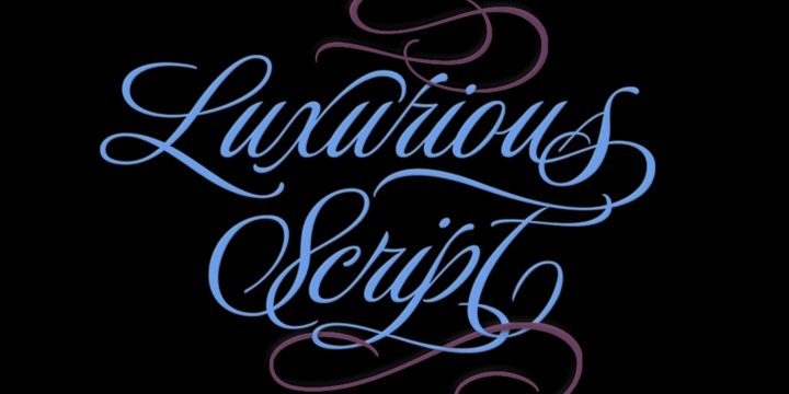 Luxurious [6 Fonts] | The Fonts Master