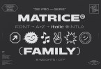 Matrice [16 Fonts] | The Fonts Master