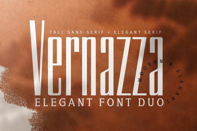 Vernazza [2 Fonts] | The Fonts Master