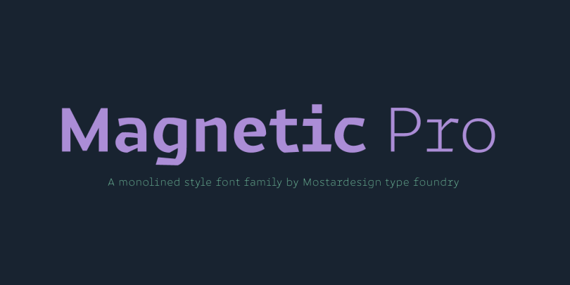 Magnetic Pro Super Family [17 Fonts] | The Fonts Master