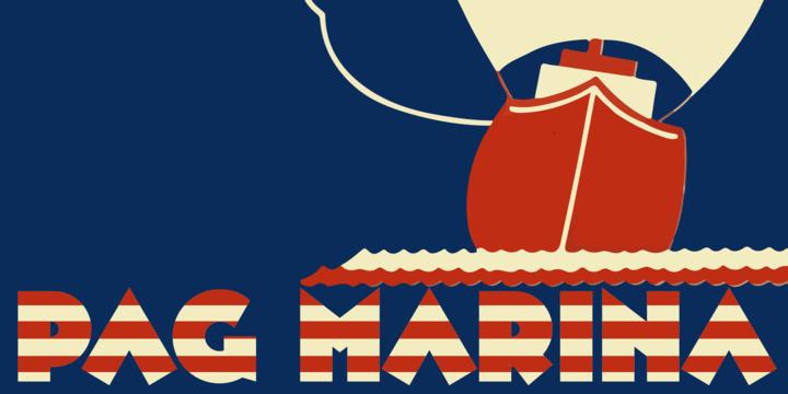 Pag Marina [1 Font] | The Fonts Master
