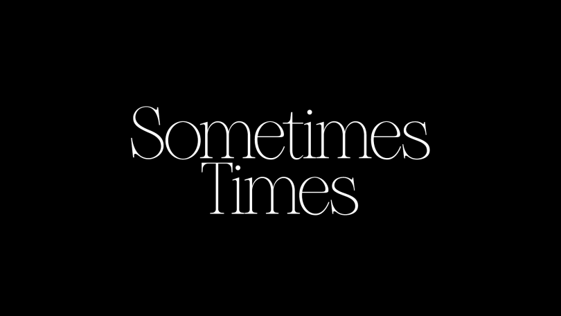 Sometimes Times [1 Font] | The Fonts Master
