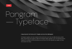 Pangram Sans Super Family [7 Fonts] | The Fonts Master