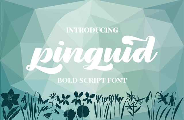 Pinguid [1 Font] | The Fonts Master