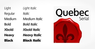 Quebec Serial [14 Fonts] | The Fonts Master