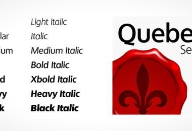 Quebec Serial [14 Fonts] | The Fonts Master