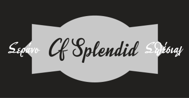 Splendid Cf [2 Fonts] | The Fonts Master