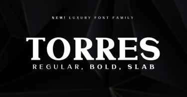 Torres [3 Fonts] | The Fonts Master
