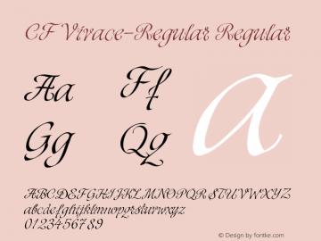 Vivace Cf [2 Fonts] | The Fonts Master