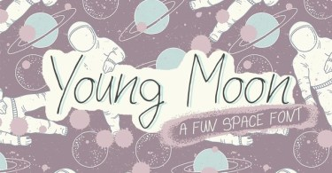 Young Moon [1 Font]   The Fonts Master