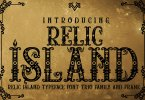 Relic Island [4 Fonts] | The Fonts Master